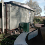 Cladding works in Waterbeach.