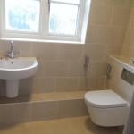 Cambourne toilet and wash basin